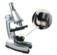 Wholesale Non Skid x x x Illuminated education Microscope with Reflecting Mirror Lamp
