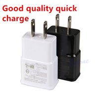 Wholesale Good quality Wall Charger Travel Adapter V A Home Plug For Samsung Galaxy S4 S6 S5 NOTE LG HTC Huawei True Full A US EU Plug
