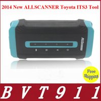 Wholesale Newest Superior ALLSCANNER Toyota ITS3 Tool Without Bluetooth Version DHL ALLSCANNER Toyota ITS IT3 Scanner
