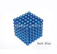 Wholesale 5mm buckyball magic magnetic ball Math Toys educational toys