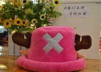 Wholesale Hot Sale One Piece Tony Tony Chopper Hat Cosplay Cap Visual Cute Japan Comic ONE Halloween Hats EMS