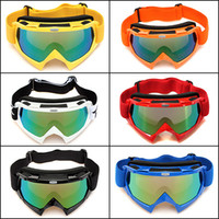 Wholesale Fashion Hot sale ski goggles riding goggles Harley goggles PC Lens ABS Frame cotton high elastic strap Colors