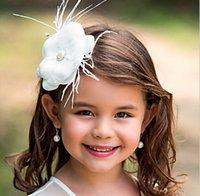 Wholesale Girs head pieces Girls Children s hair accessories headdress flower Wedding Bridesmaid Crystals Crown Veil Hair Accessories