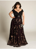 Wholesale Sexy Stunning Beaded Sequins Appliques Ruched Plus Size Waistband Zipper A Line V Neck Floor Length Bridesmaid Prom Gown Evening Dresses
