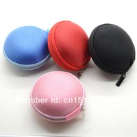 bamboo ear pick - 3PCS Carrying Case Pouch Bag Storage Box For In Ear Earphone Earbud Colors Pick tZcqC
