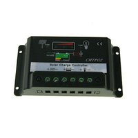 solar battery charge controller - 30A V V PWM Solar Panel Battery Regulator Charge Controller Switch