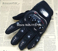 Wholesale Pro biker PRO knight Motorcycle Bike Bicycle Full Finger Protective Gear Racing Gloves Performance Racing Accessories GL165662