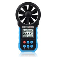 Wholesale BSIDE EAM03 VS MS6252B Digital Anemometer Wind Speed Meter Anemometro Air Flow Temperature Humidity Tester USB Real Time Data