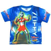 Wholesale New Big hero cartoon T shirts Spiderman Autobots Martha short sleeves Tshirt tops pure cotton Children