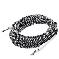 Wholesale High Quality ft m Guitar Bass Cable mm Mono Male to mm Mono Male Cable Wire Cord for Instrument I1237