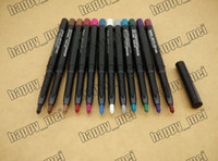 Wholesale ePacket Pieces New Makeup Rotary Retractable waterproof Eyeshadow Eyeliner Pencil Colors