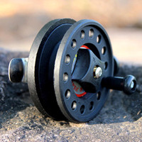 Wholesale 2BB Right Hand Former Fishing Reel for Ice Raft Fishing Super Light Fishing Tackle Accessory Reel Equipment