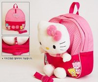 baby trend backpack - New Trends Cute D Hello Kitty Toy Baby Bags For Kids Girls Actical Pink Children Backpack School Bag High Quality Z05