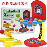 Wholesale Children s Desktop Games Multicolour Marbles Parent Child Family Desktop Basketball Game Educational Outdoor Fun Sports Toys Fast shipping
