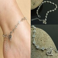 beautiful jewellry - Anklets Foot Jewelry Trendy Gift for Women Girl Foot chain Beautiful Tibetan Silver Daisy Flower Chain Anklet Ankle Bracelet Beach Jewellry
