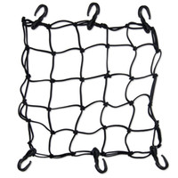 Wholesale Heavy Duty quot Cargo Net for Motorcycle Hooks Hold down Fuel Tank Luggage Net Mesh Web Bungee Black