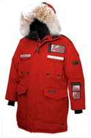 big dog jackets - Men Resolute parka men down parka with big raccoon fur snow down jackets long warm down coats Canada Sweden