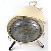 Wholesale Large Size Portable Outdoor Garden Cooking Camping Picnic BBQ Metal Charcoal Powder Coated Barbeque Grill For Party Camping