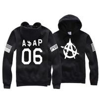asap printing - Fashion ASAP ROCKY Printed Men s Fleece Hoodies Men Hip Hop Basketball Man Sportwear Sweatshirts Auturn Winter