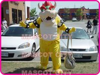 bowser costume - MASCOT CITY Hot Anime cosply Costumes Bowser Monster Mascot Costume Professional Custom Carnival Mascotte Costumes Fancy Dress Suit Kits