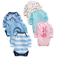 bb monkey - Monkey bb Boys Bodysuits Striped Baby Pajamas Toddler Jumpsuits Polka Dot Outfits babies Clothes