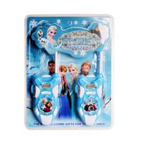 Wholesale Frozen Toy Walkie Talkies Frozen Interphone spiderman kitty despicable me walkie talkies Interphone pieces set