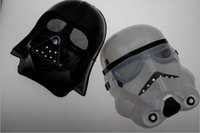 Wholesale 2 Styles Hot Sale New Arrival Star Wars Cosplay Horror Mask StromTrooper Darth Vader Halloween Carnival Party Mask