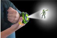 Wholesale Hot Selling ben omnitrix watch Style Kids Projector Watch Japan Genuine Ben Watch Toy Ben10 Projector Medium Support Drop