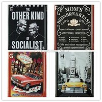 Wholesale Hot Marilyn Monroe Hollywood Vintage Metal Painting Retro Poster Tin License Plate Wall stickers Decoration Home Decor Art Tin Sign