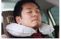 air plane seats - Air Inflatable Pillow U shape Neck Rest Air Inflatable Travel Plane train even in office Convenient portable