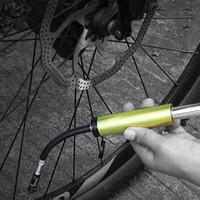 Wholesale 9bar psi BaseCamp Portable Mini Bicycle Pump Aluminum Alloy Bike Tire Inflator Air Pump Super Lightweight Cycling Accessory