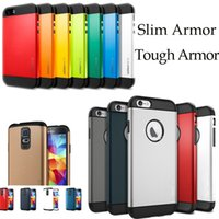 Wholesale Dual Layer Hybrid Hard Plastic PC Silicone SPG Tough Slim Armor Case Cover Skin for iPhone S S Plus Iphone s S6 S5 MOQ