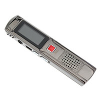 Wholesale 809 GB quot Digital USB Rechargeable stereo recording Voice Recorder WMA MP3 Player Digital Voice Recorder