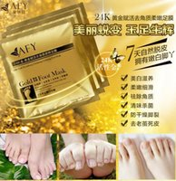 active stickers - AFY Peeling Feet Mask K Active Gold Revitalizing Feet Mask Exfoliating Softening scrub foot mask tendering Feet care sticker health care