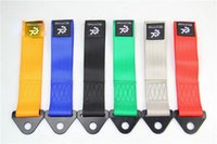 Wholesale Vehicle Tools Towing Ropes EPR Car Emergency Tow Strap Black Silver Orange Red Blue Green colors optional