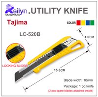 Wholesale Tajima Utility Knife LC520B mm blade spare blades attched Craft DIY tool thick materials cutting knife