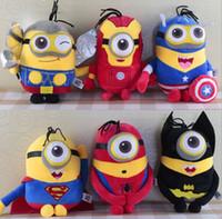 minions - DDA2565 pcs1 set The Avengers plush toys Marvel Stuffed Toys Minions Plush toys Kids Gift The Avengers Dolls Gift