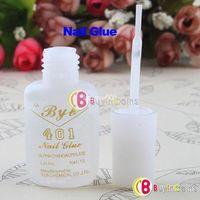 long nail art tips - 10g Long Last Practical Useful Nail Art Salon Glue Brush Decor Tip Acrylic