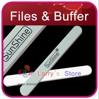 Wholesale High Quailty Double Side Nail Art Buffer File Instant Polishing Use For Care Tool Buffing Block Sanding Sunshine