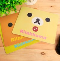 Wholesale Hot Sales Korean Style Easily Bear Mouse Pads Cartoon Images Creative Gifts Digital Peripheral Mouse Pads