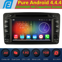 Wholesale Android Pixels A9 G CPU Car DVD GPS for Mercedes benz A C CLK SLK class w203 w209 w463 w168 w210 w163 Vito W170 W163 W208