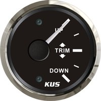 Wholesale 52mm black faceplate Trim gauge trim gauge wiring ohm stainless steel for the marine boat yacht