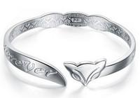 articles bangles - First new jewelry popular retro elegant sterling silver silver bracelet adorn article Silver bracelet in Europe and the fashion gi