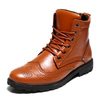 5.1 b coffee - 2016 Hot Sell Men Ankle Boot Winter Male Fur Boot Black Coffee Yellow Keep Warm Boots Man Footwear bota masculina