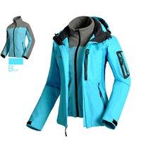 Wholesale DHL Winter Ski Jacket Women Outdoor Layer Waterproof Skiing Snowboarding Camping Hiking Jackets Warm outerwear