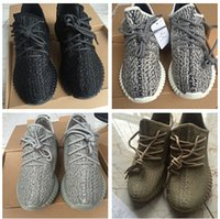 Wholesale Authentic final version boost Oxford Tan Pirate Black Turtle Dove Moon Rock Authentic kanye west Original shoes Fast
