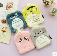 Wholesale Cute My Neighbor Totoro Plush Cotton Cover PVC Hot water Bag Hot Water Bottle Retail