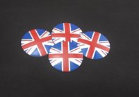auto unions - Mixed set mm CAR Auto Tyre Wheel Center Cover Stickers HubCap Stickers Emblems Badge Decal Union jack