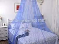 Wholesale 1pcs Elegant Round Lace Insect Bed Canopy Netting Curtain Dome Mosquito Net