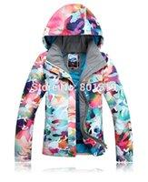 Wholesale GSOU SNOW chilodren girl ski jacket windproof waterproof snow boarding jacket color skiwear